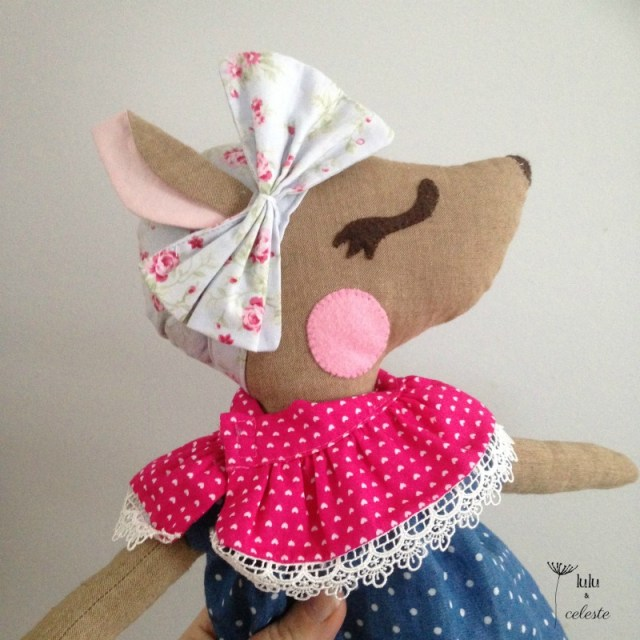 Hazel Deer pattern by Dolly Henry sewn by Lulu & Celeste