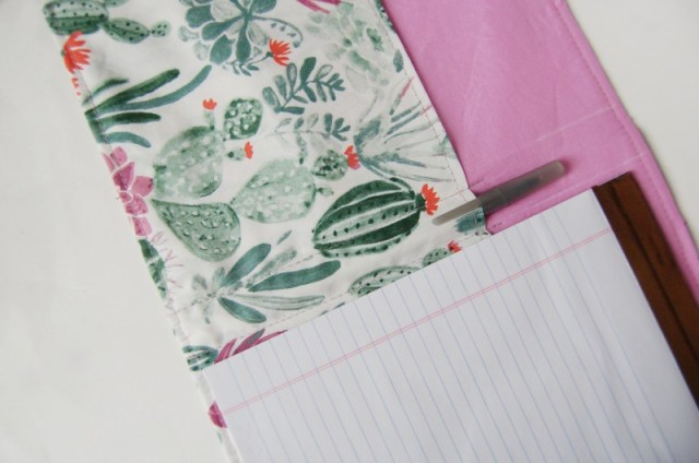 Inside notebook using monaluna fabrics