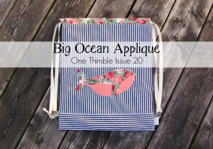 big ocean applique