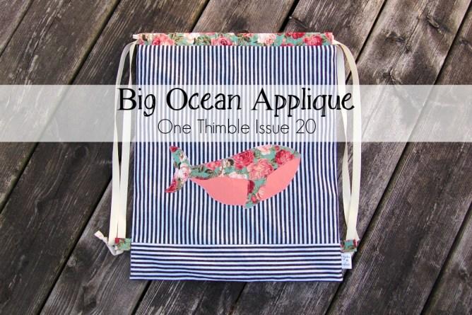 big ocean applique