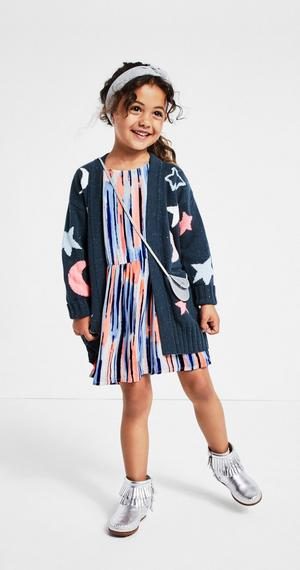 Dress and sweater outfit from Gymboree