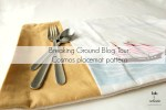 Breaking Ground Blog Tour: Galaxie 2 Lunch Placemat