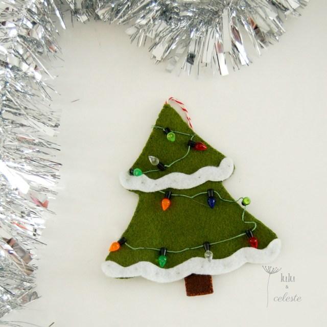 Christmas tree ornament by Lulu & Celeste