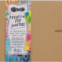 Dylusions Creative Dyary Flip Book Large