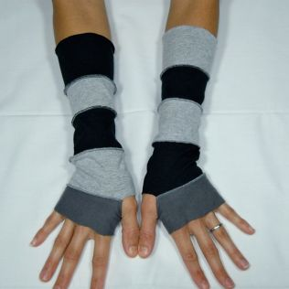 Upcycled T-Shirt Arm Warmers