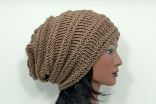 Upcycled Super Slouch Hat