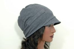 Upcycled T-Shirt Slouch Hat