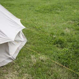 Canvas-tent-and-guy-ropes