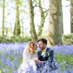 bluebell+woodland+glamping+wedding