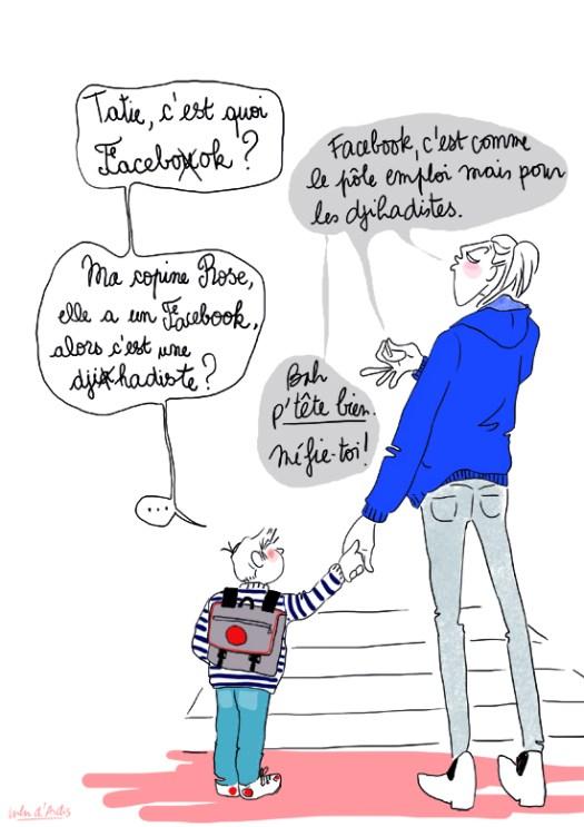 Facebook - Lulu d'Ardis