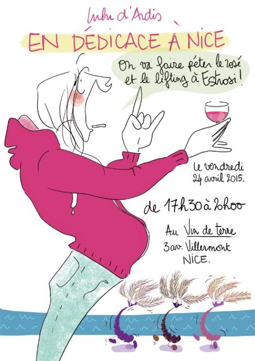 Dédicace Nice - Lulu d'Ardis