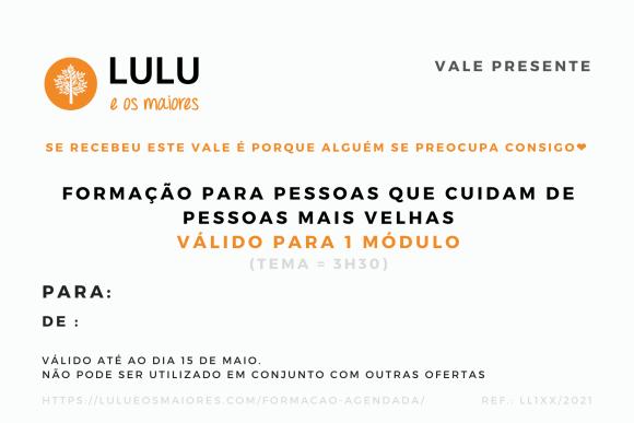 2021-05 - Lulu e os Maiores - Vale Presente