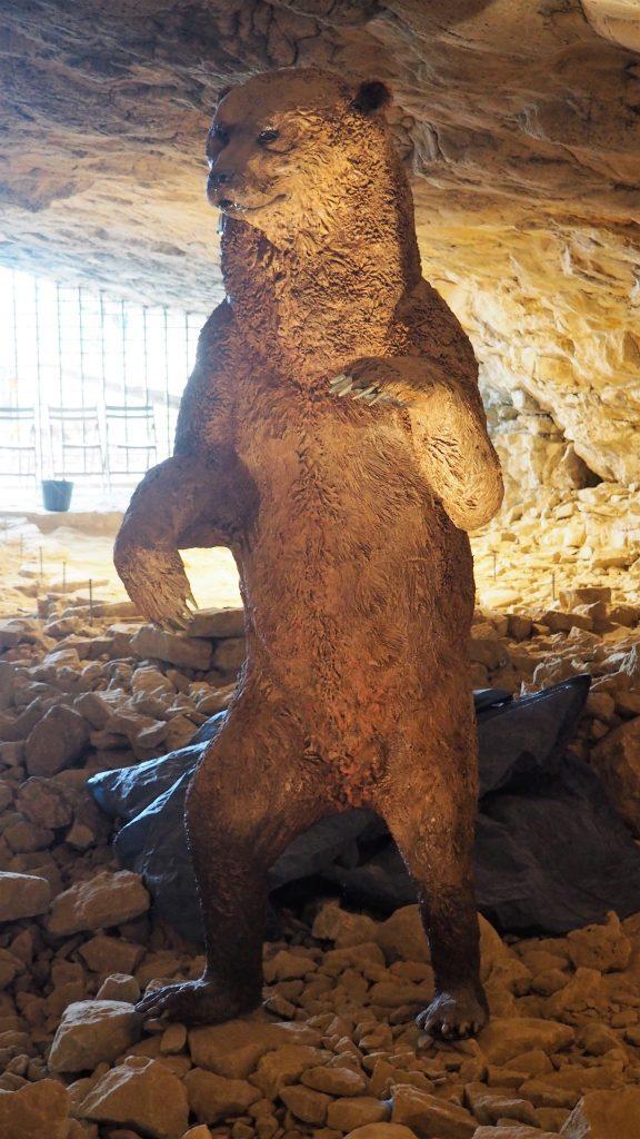 Site de SOyons - Grotte de Néron Ours
