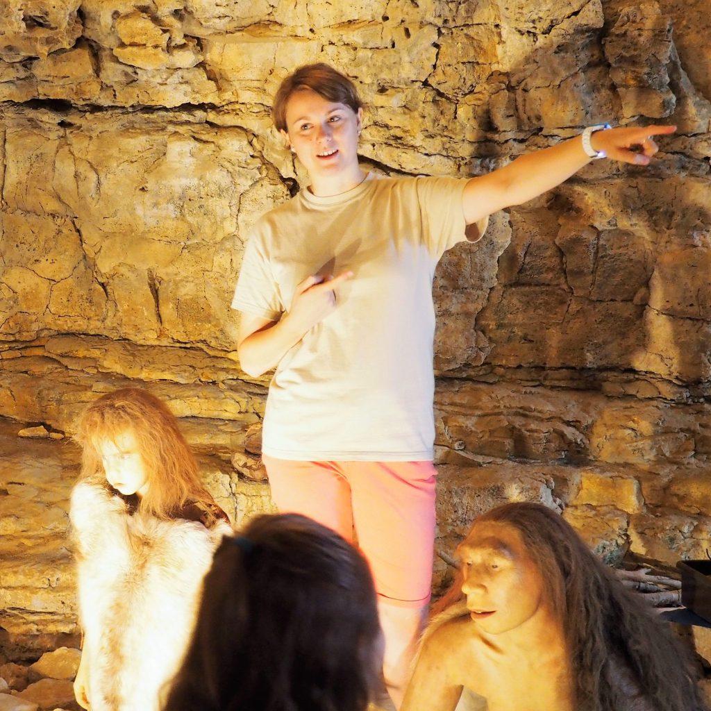 Site de Soyons - Grotte de Néron guide