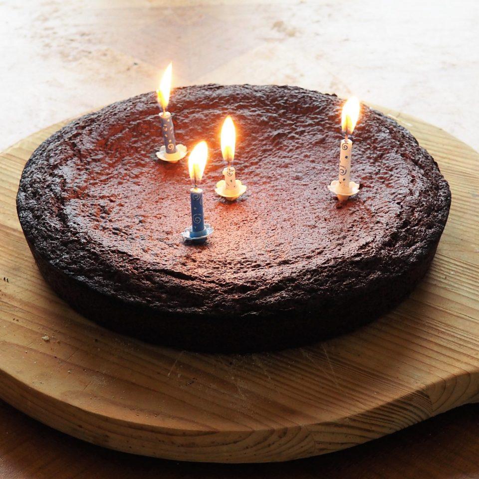 Lulu - gâteau d'anniversaire