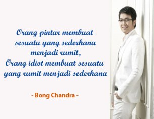 Quotes Bong Chandra