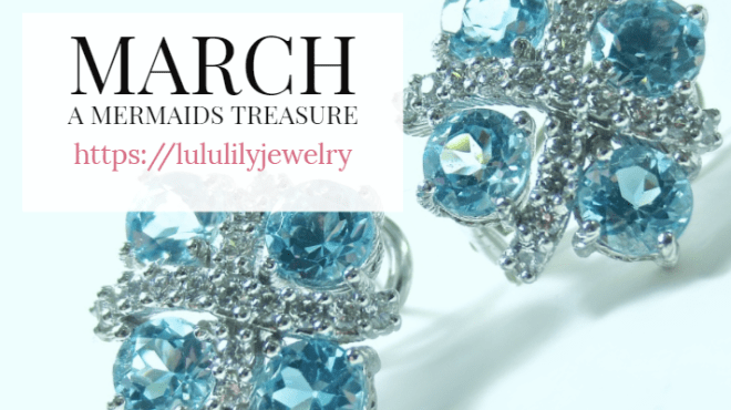 Aquamarine the gemstone for March birthdays
