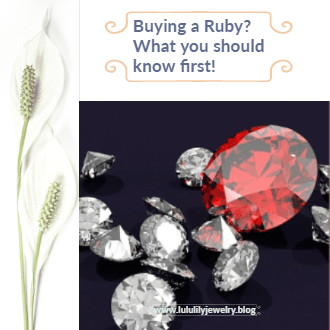 Buying a ruby, what you should know...