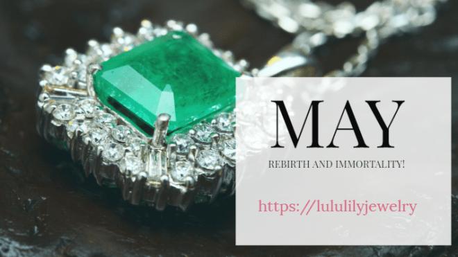Birthstones by month - Emerald - May birthstone