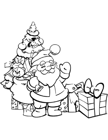 Free-holiday-coloring-pages