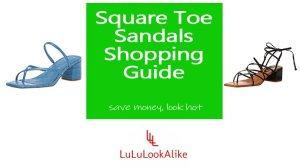 Square Toe Sandals Feature Image