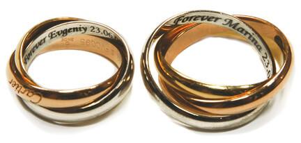 Интересные обрычальные кольца