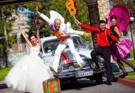 Cвадьба в стиле стиляг – яркий и бесшабашный праздник любви