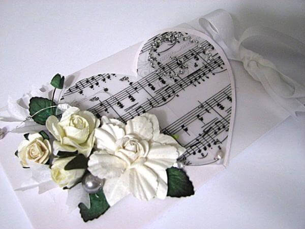 Музыкальное сердечко.