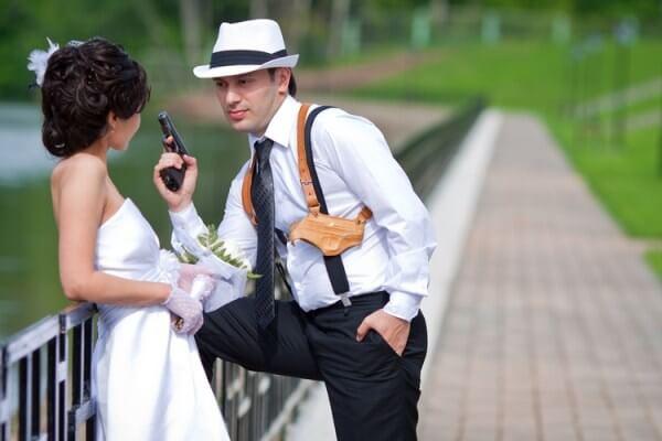 Нестандартная свадьба