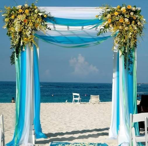 """Свадебная арка в форме буквы """"П"""""""