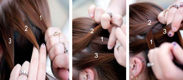 Плетение французской косы инструкция