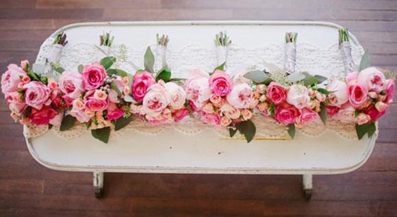 Оформление свадьбы розовыми цветами