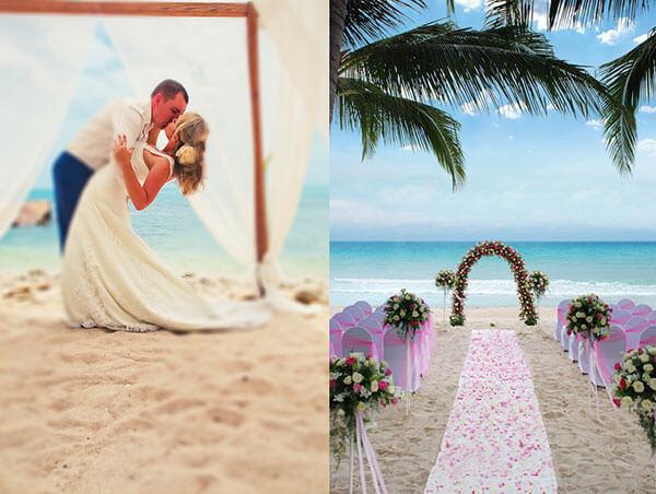 классические свадебные арки