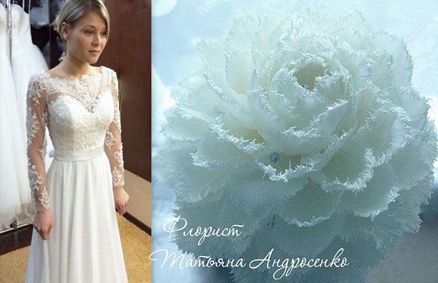 Свадебная гламелия из тюльпана своими руками