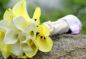 Свадебный букет из калл – олицетворение чистого сердца и нежности