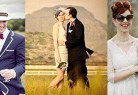 Свадьба в стиле 60-х: как воссоздать обстановку в стиле ретро?
