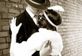 Свадьба в стиле 30-х: черно - белое шоу Чикаго!