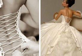 Как зашнуровать свадебное платье – дышим полной грудью!