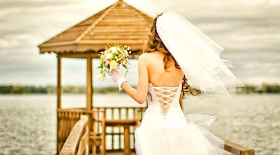 свадебное платье с карсетом