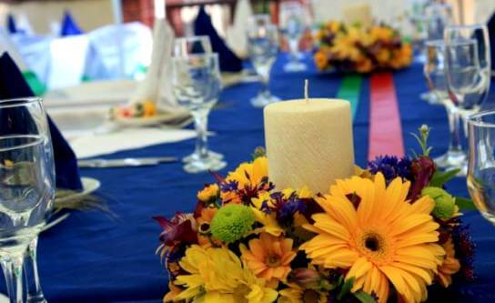 украшение стола для свадьбы в стиле сказки