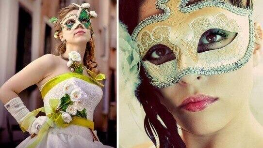 невеста в вененцианском стиле