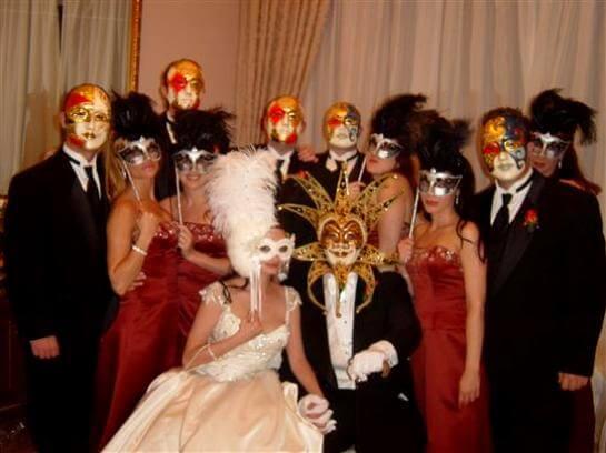 образ приглашенных на свадьбе