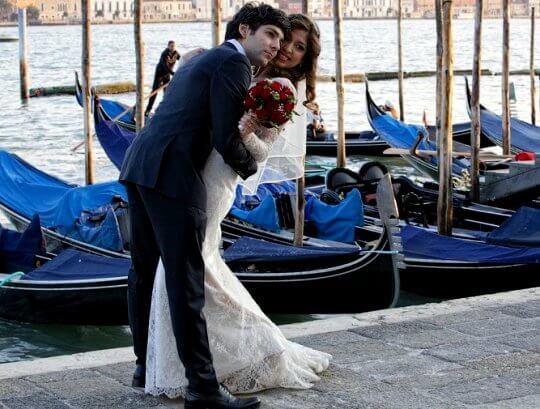 водная свадебная прогулка