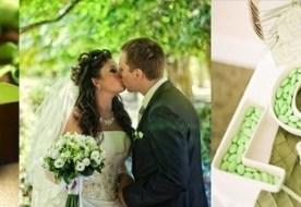 Свадьба в зеленом стиле – праздник цвета «мохито»