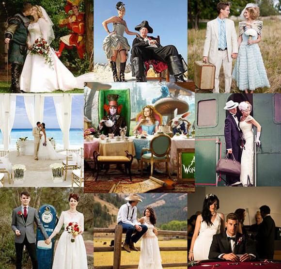 Какие стили свадеб бывают