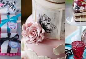 Декор свадебного стола в стиле сказки