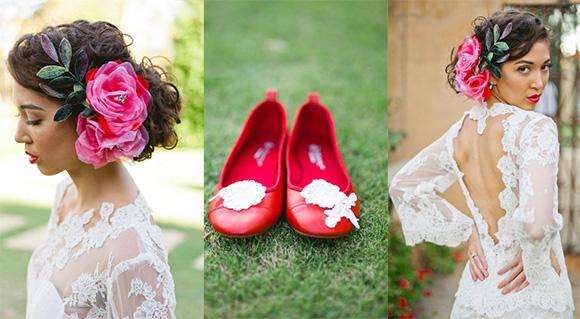 Невеста в мексиканском стиле