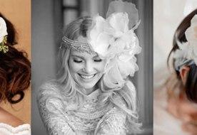 Свадебные прически с живыми цветами: выбираем самое лучшее!
