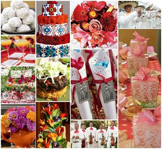 Свадебный стол. Мексиканский стиль