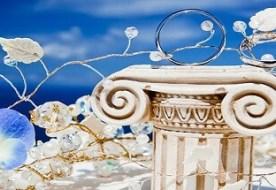 Свадьба в греческом стиле - путешествие в страну античных богов